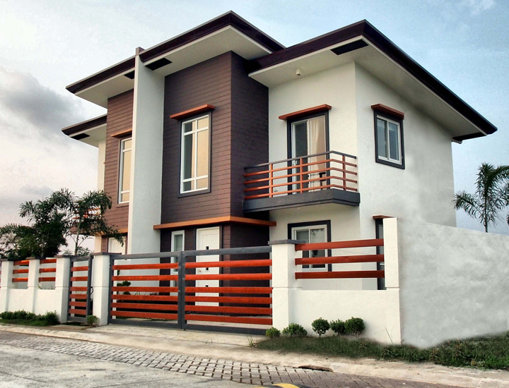 House and lot duplex and single detached in bulacan for Duplex house models
